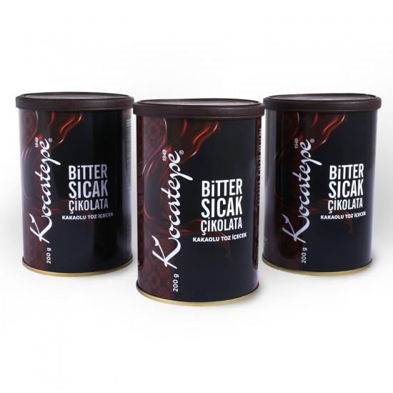 Kocatepe Bitter Çikolata 200 Gr (3 lü)