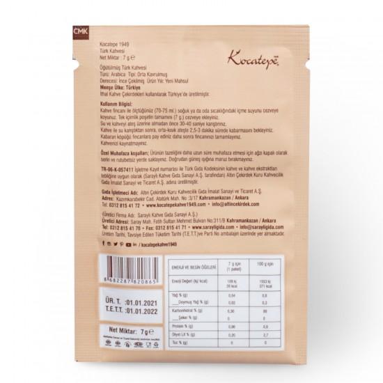 Kocatepe Kahve Türk Kahvesi Tek İçimlik 7 gr X 24