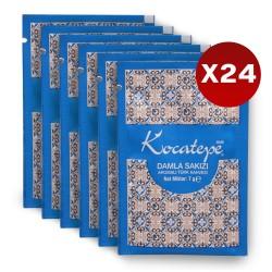 Kocatepe Kahve Türk Kahvesi Damlasakızı Aromalı Tek İçimlik 7 gr X 24