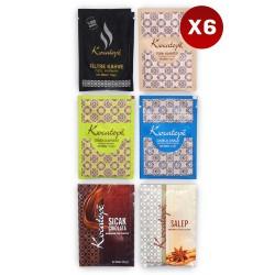 Kocatepe Kahve Karma Tek Içimlik Paket 6 X 6