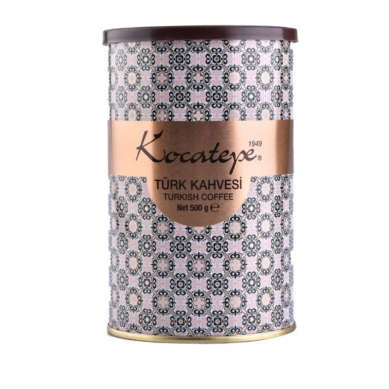 Kocatepe Kahve Türk Kahvesi 500 G Teneke